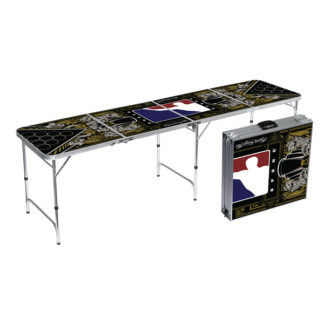 Hydro74 Beer Pong Table Signature Series By Bpong 8ft Aluminum