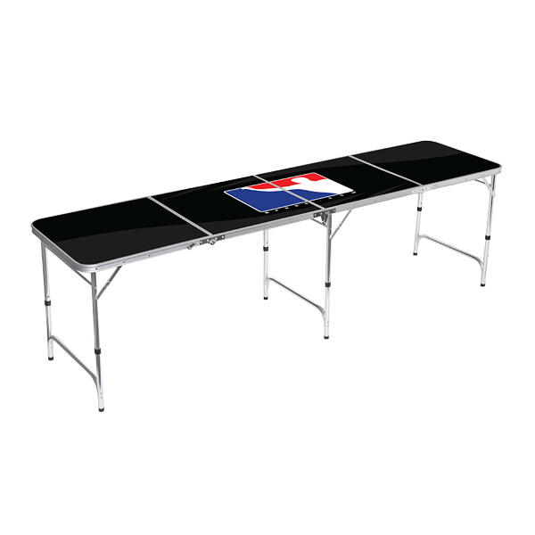 Beer Pong Table   BPONG® Logo   Black   TABLA01 8FT | BPONG