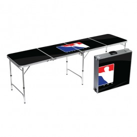 Official BPONG Beer Pong Table - Black