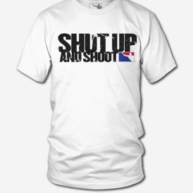 SHRTA012-WHT-Shut-Up-and-Shoot-mock