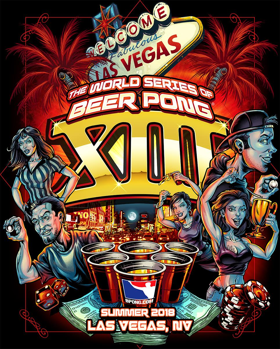 The World Series of Beer Pong XIII - Summer 2018 - Las Vegas, NV