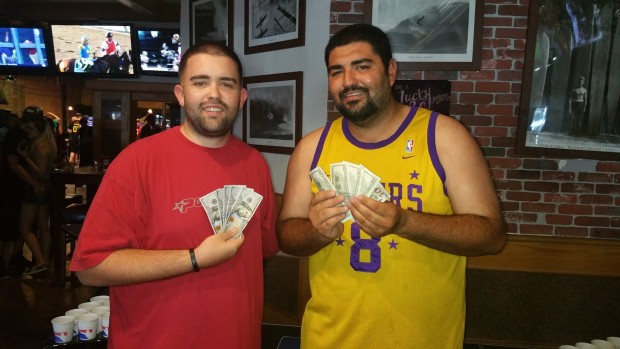 Brandon Marx (AZ) and Mark Pimentel (CA) fight their way to the top of the BOW $2k kick-off tourney title.