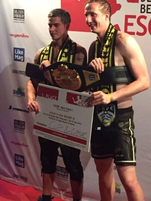 """The European Series of Beer Pong's First-Ever Champions: """"Cup & Cupper"""" - Kevin Keenan and Christoph Vogel"""