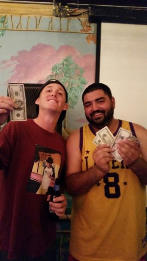 Ocean Grown Pong's WSOBP XI Satellite Tournament Winners: Ryan DeHoop & Mark Pimentel.