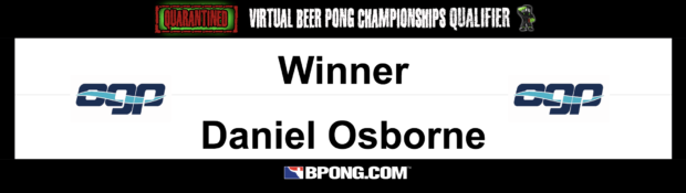 OGP Qualifier Winner: Daniel Osborne